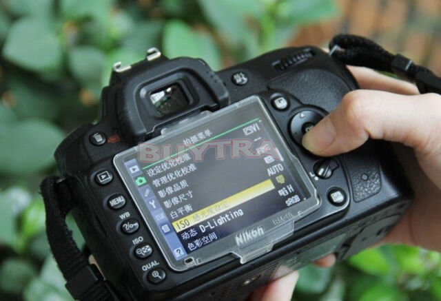 LCD Cover Protector for Nikon D90 Cameras