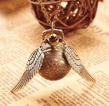 Harry Potter Snitch Pocket Watch Steampunk 25 mm Ball US Seller