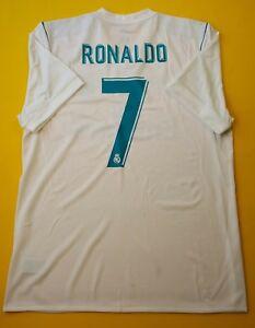 c382988e9 5+ 5 Ronaldo Real Madrid adizero jersey XL 2018 shirt B31097 Adidas ...