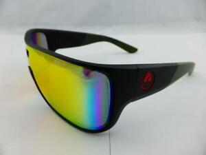 a5b28a3d8e Details about Dragon HEX Sunglasses Utility Green Frame - Red Ion Lens  29397-300