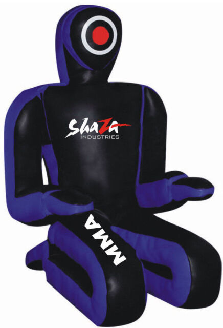 SHAZA SUBMISSION WRESTLING DUMMY UPDATED GRAPPLING SUBMISSION BAG #BLACK MAGIC