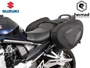 SW Motech Blaze Motorcycle Panniers - Suzuki GSX650F/GSF125<wbr/>0 Bandit/S/GSX12<wbr/>50F