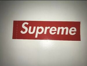 Supreme Box Logo Sticker - 100% Real Supreme Team NYC | EBay
