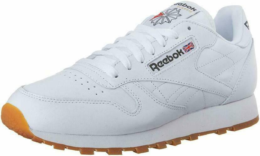 REEBOK MENS CLASSIC LEATHER FASHION SNEAKER
