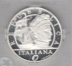 """ITALIE - 2011 - 10 euros argent """"Amerigo Vespucci"""""""