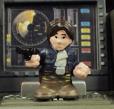 Hasbro Star Wars Fighter Pods Heroes Rebel Alliance Han Solo Figure K30