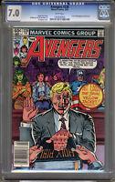 Avengers #228 CGC 7.0 FN/VF Universal CGC #1002840005
