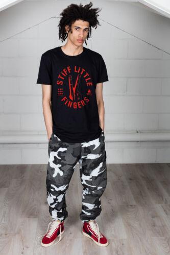 Official Stiff Little Fingers Digits Unisex T-Shirt Tinderbox Punk Hope Street