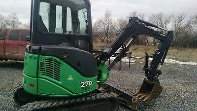 John Deere 26G, 27D, HitachiZX27, Excavator Hydraulic thumb attachment Pin  On | eBay