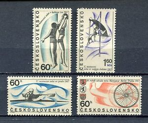 32903-Checoslovaquia-1967-MNH-Cycling-Basket-4v