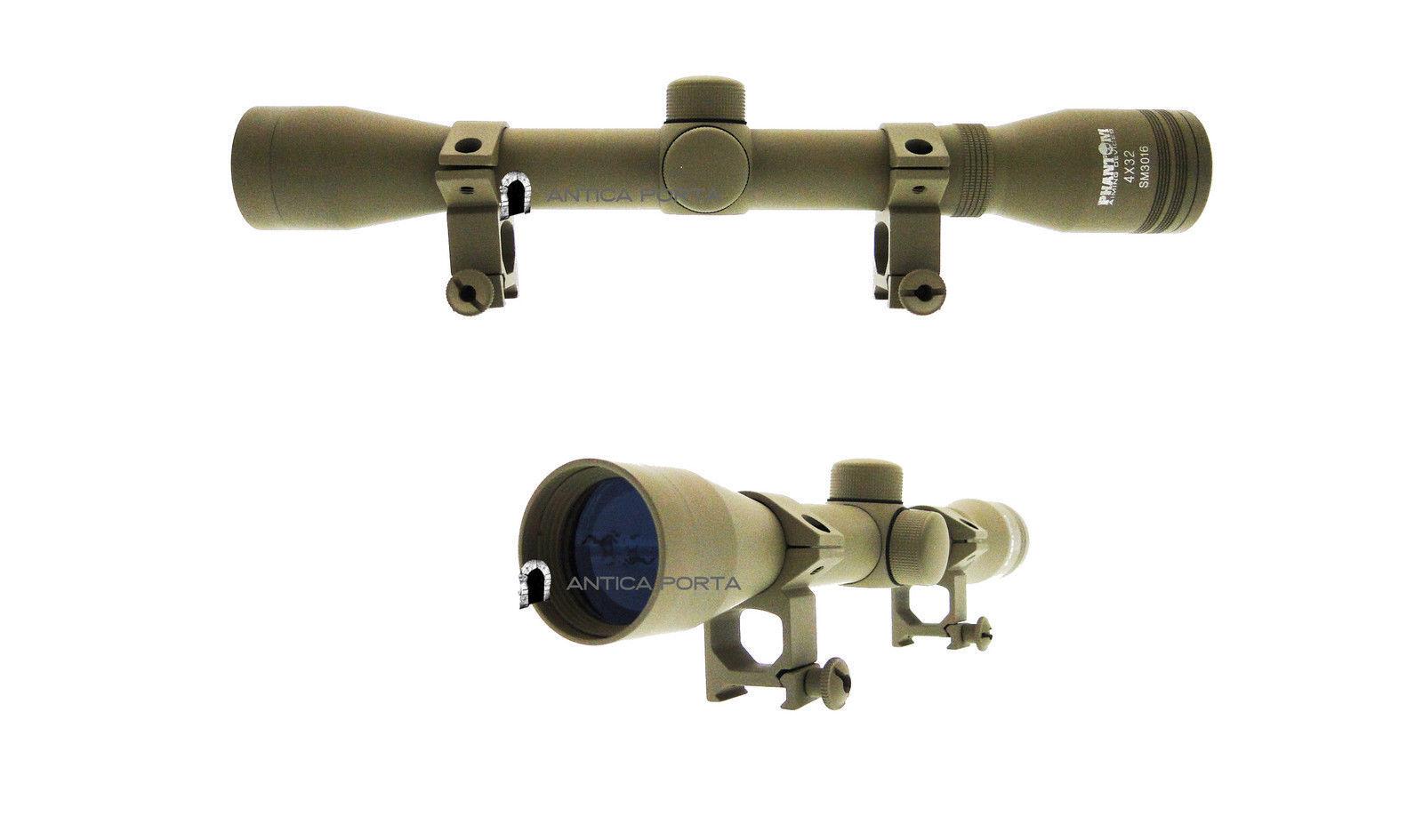 Optics 4 x 32 Fine Duplex LONG TAN JS-Tactical