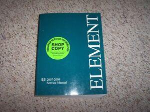 2007 honda element service shop repair manual 2008 2009 lx ex sc 2 4 rh ebay com Honda Element Maintenance Honda Element Parts Manual