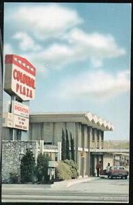 ORLANDO-FL-Colonial-Plaza-Motor-Inn-Motel-Vtg-Postcard
