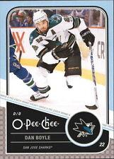 11-12 OPC O-Pee-Chee Dan Boyle Playoff Beards #22 Mint