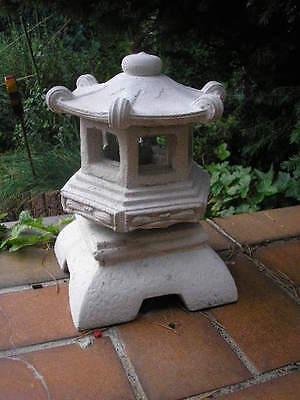 FengShui Stein Pagode Gartenlaterne Rankei