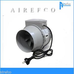 blauberg turbo 150mm inline fan bathroom exhaust