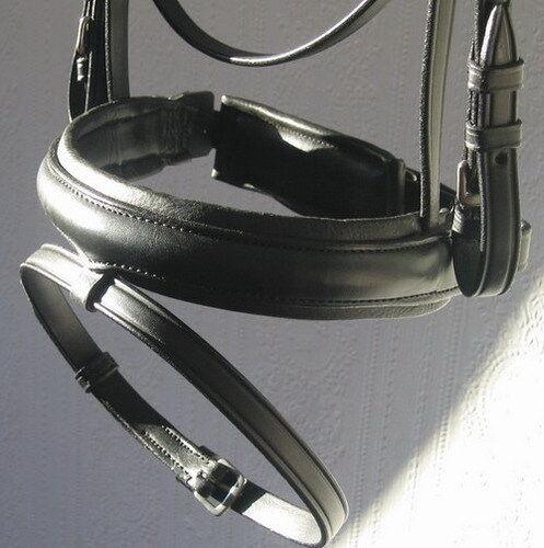 FSS German Comfort Padded Crank Flash Dressage Combined Noseband Hanoverian NEW