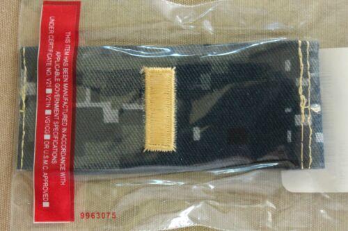 USN US NAVY OFFICER O-1 ENSIGN ENS NWU UNIFORM TYPE 1 BLUE COLLAR RANK PAIR