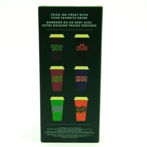 Starbucks 2020 Halloween Glow In The Dark 16oz Reusable Hot Cup /& Lid 6 Set NEW