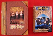 Harry Potter and The Sorcerers Stone Playing Cards In Tin Box Case Book