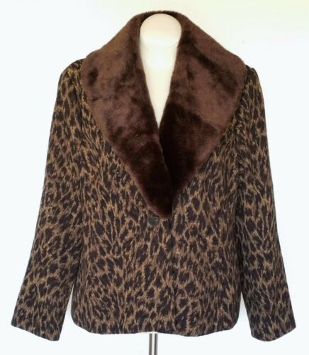 Brocade Women Collar Ny Gross 20w Mitchell Jacket Coat Lovely Removable qSxpFagHwP