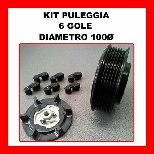KIT PULEGGIA COMPRESSORE ARIA CONDIZIONATA SEAT EXEO DAL 2008 8E0260805BF