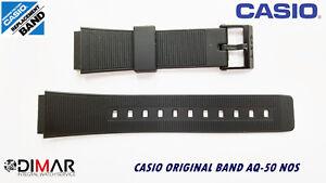 VINTAGE-CASIO-ORIGINAL-WATCH-BAND-AQ-50-NOS