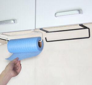Accessories shelf under cabinet paper roll rack towel holder tissue hanger H/_ne