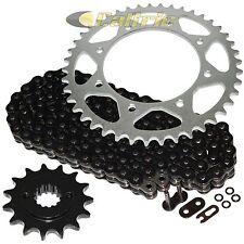 Black O-Ring Drive Chain & Sprocket Kit Fits KAWASAKI KLR650 KL650A KL650E 90-16