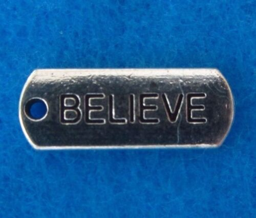 Pendant Message Charms Motivational Message Charms Be Positive Will Power Charms