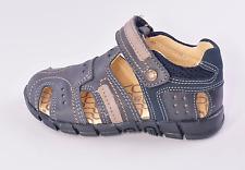 Primigi Gerth Infant Boys Blue Vented Leather Shoes UK 8 EU 26 US 8.5