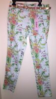 Baker By Ted Baker Girls' Belted Floral Pants Multi Color Size 12 With Tags
