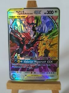 Galarian-ARTICUNO-ZAPDOS-and-MOLTRES-proxy-Custom-Pokemon-Card-dans-HOLO
