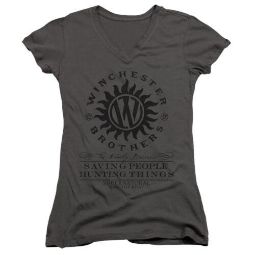 SUPERNATURAL ANTI POSSESSION Licensed Women /& Junior Tee Shirt and V-Neck SM-2XL