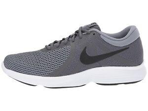 0918b010368de Nike Men s Revolution 4 Running Shoes 908988 010 Dark Grey Black