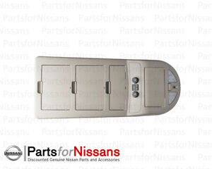 GENUINE-NISSAN-2007-2012-ARMADA-OVERHEAD-ROOF-CONSOLE-MAP-LIGHT-SWITCHES-NEW-OEM