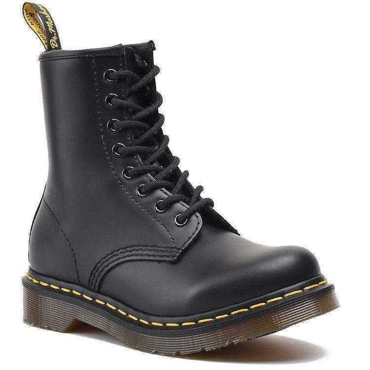 2019 Hot Dr Martens 8-Eye Classic Airwair 1460 Leather Ankle Boots Unisex Y8