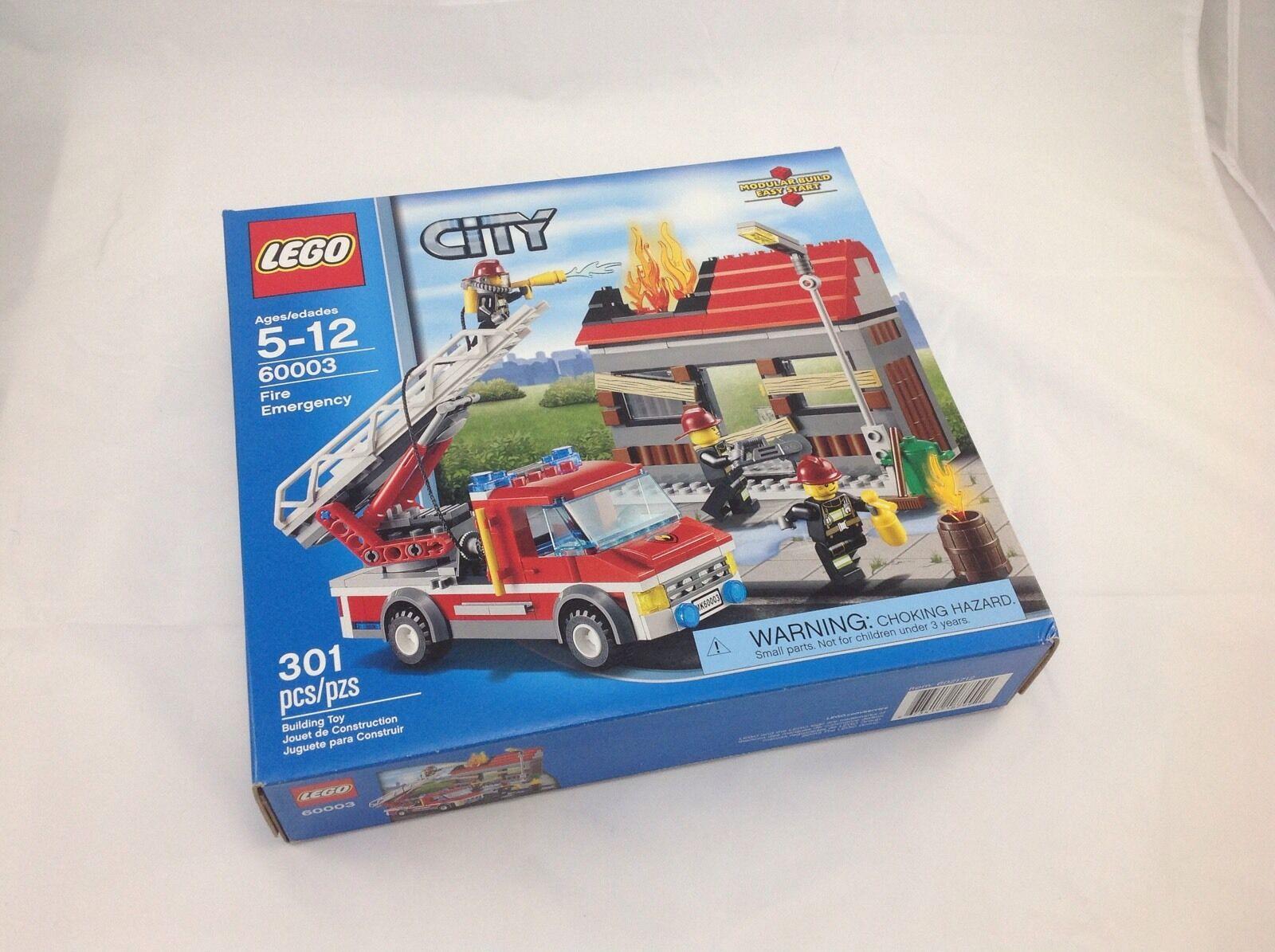 prezzi bassi LEGO città Fire Fire Fire Emergency 60003 bre nuovo in scatola NIB gratuito shipping  design semplice e generoso