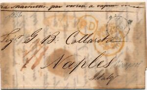 Lettre-Liverpool-Disinfected-Cholera-Napoli-Italy-cover-brief-Great-Britain