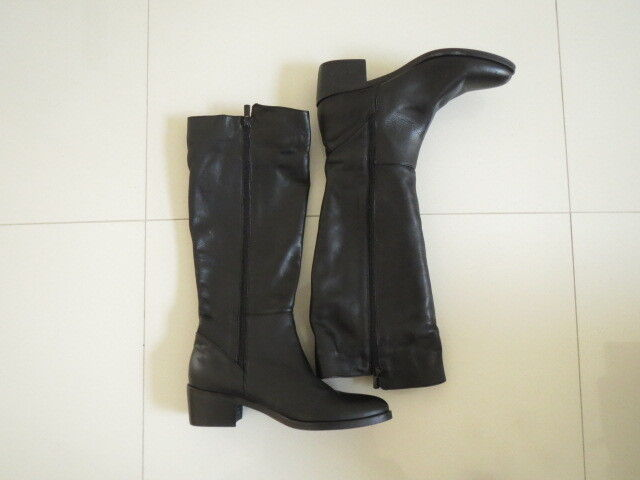 BN  Gaimo Ladies Genuine Leather Long Black Long Boots  Size : 39