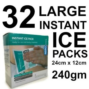 32-LARGE-Instant-Ice-Pack-Single-Pack-crack-amp-shake-first-aid-240gm