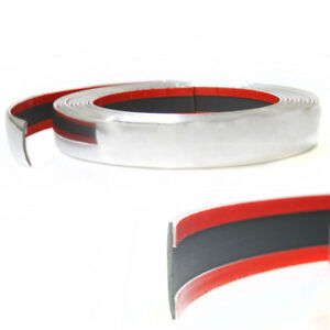 Chrome-Car-Truck-Styling-Tuning-Moulding-Strip-Trim-Self-Adhesive-Tape-25mm-x-3m