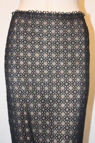 New sk78 gonna 0 Azria Poly Max Apa3b191 Knit Black Dimensione qw7qOx6pZ