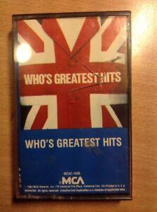who-039-s-greatest-hits-MUSICASSETTA-NUOVO-D-039-EPOCA-RIMANENZA