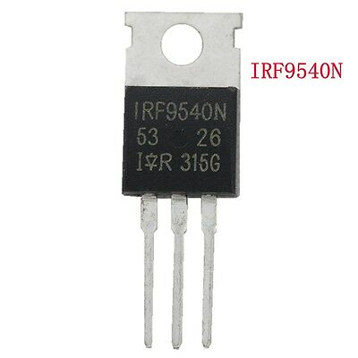 5PCS IRF9540PBF IRF9540 IOR MOSFET P-CH 100V 19A TO-220 NEW