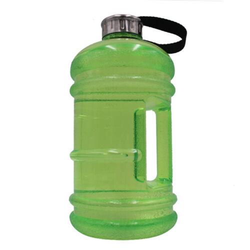 Picnic Half Gallon Jug 1pc Water Bottle Shaker Workout Fitness Basketball Sports