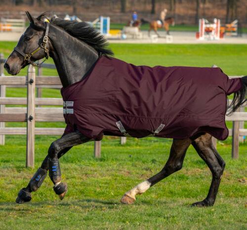 Horseware Amigo HERO 600d Ripstop Fleece Lined TURNOUT Rug Lite 50g Fig 5/'6-7/'0