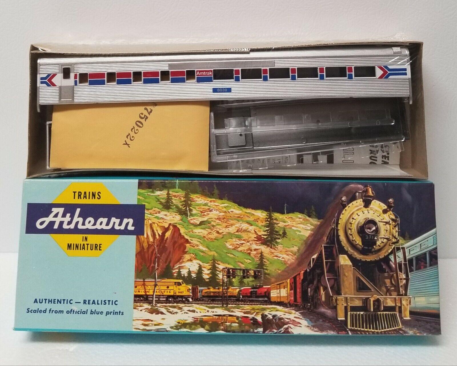 Athearn Ho Scale 1799 SL Diner Amtrak Passenger Car Model Train Kit - New in Box