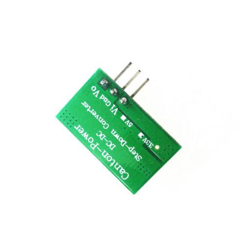 2X 2A DC 5V-23V to 3.3V DC-DC Step-Down Power Supply Buck Module For esp8266 NEW