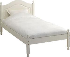 Image Is Loading Carlton White Home Bedroom Furniture 3ft Modern Solid